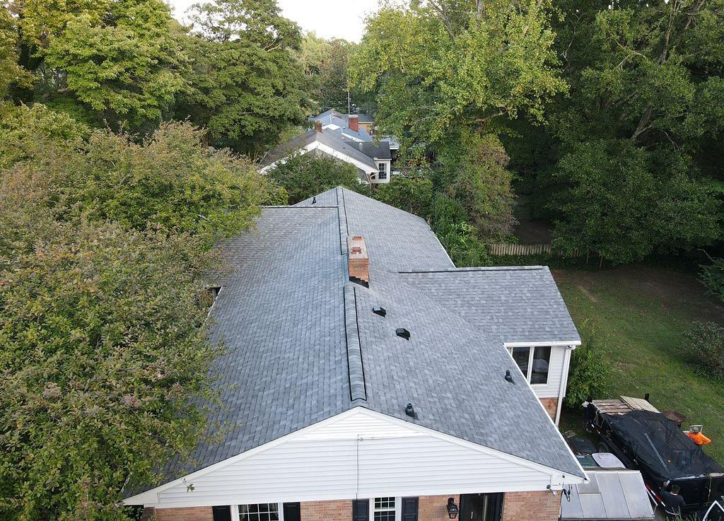Re-roofing Old Failing Roof in Greensboro, NC - After Photo