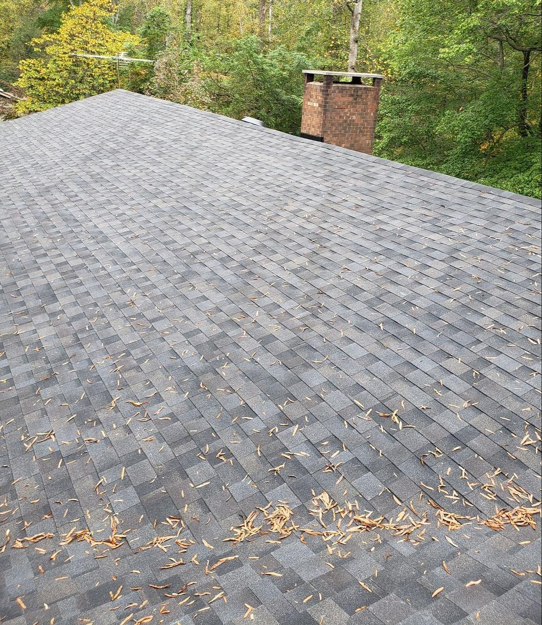 Replacing Old Weathered Roof in Oak Ridge, NC - After Photo
