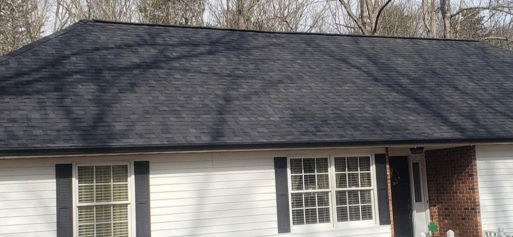 Replacing Aging Roof in Walnut Cove, NC - After Photo