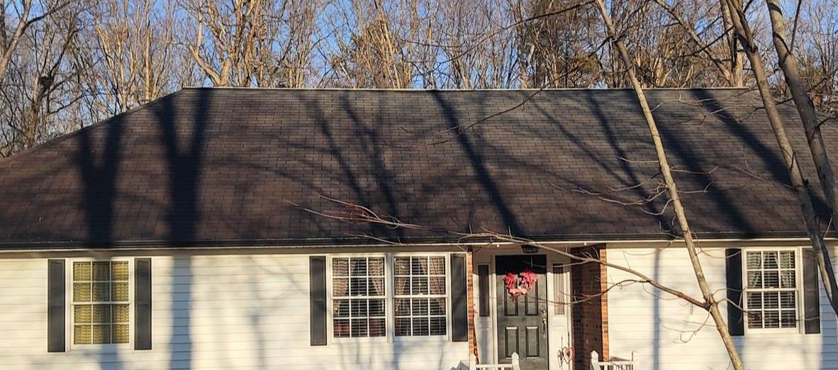 Replacing Aging Roof in Walnut Cove, NC - Before Photo