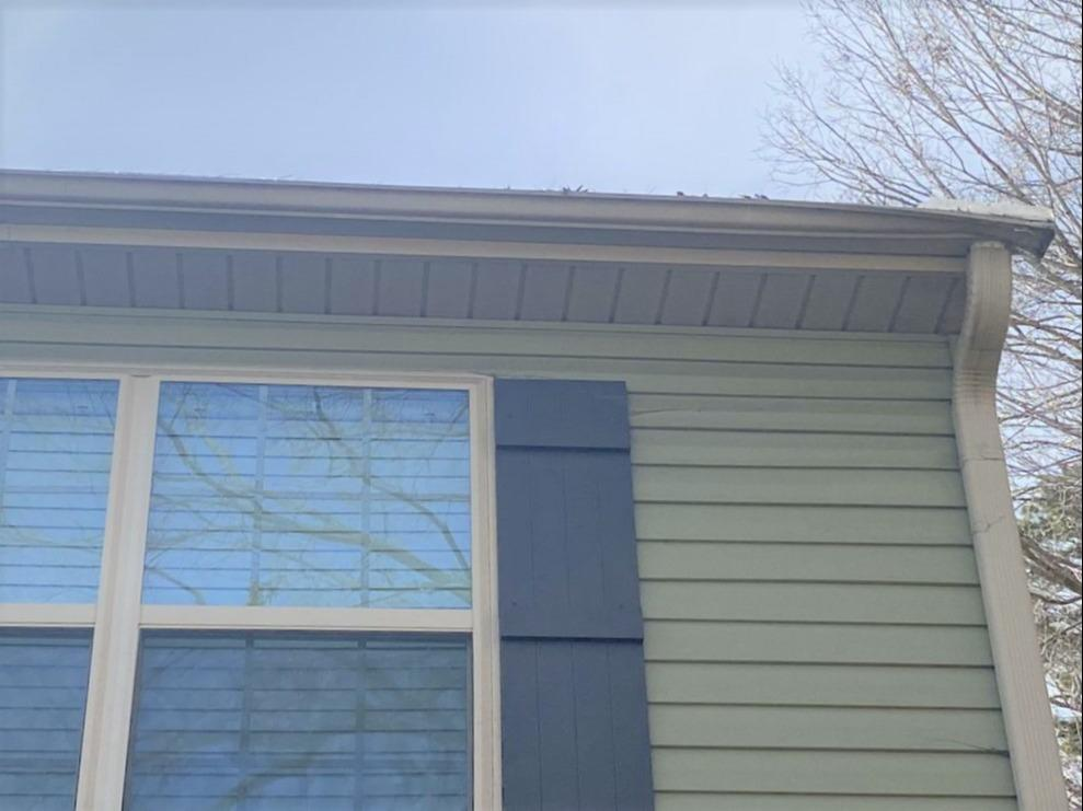 Quick and Easy Emergency Gutter Repair in Winston-Salem, NC - Before Photo