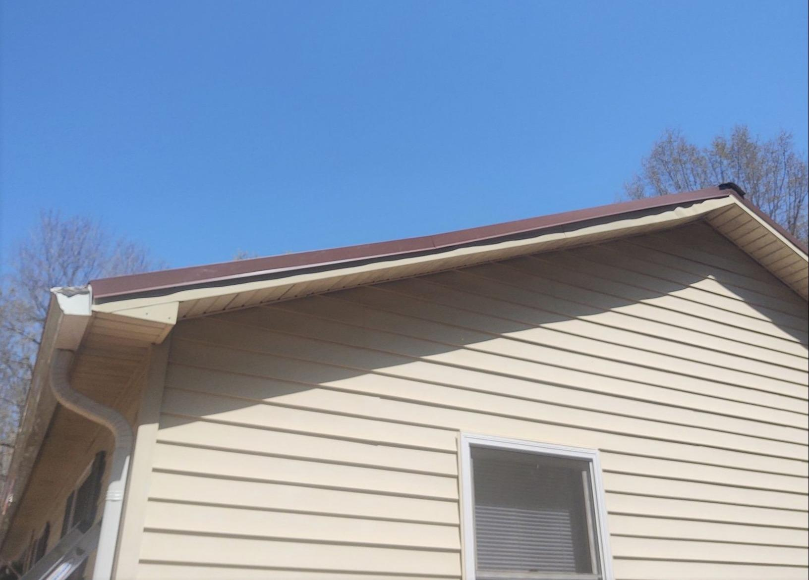 Emergency Repair on Storm Damaged Roof in Reidsville, NC - After Photo