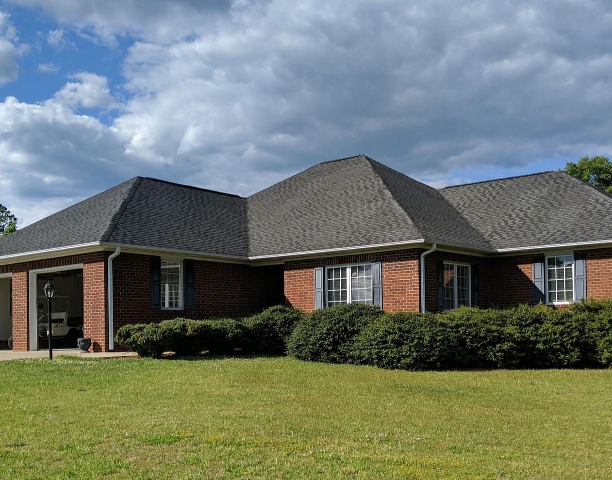 Full Roof Replacement in Walnut Cove, NC - Before Photo