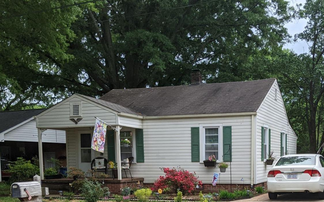 Full Shingle Roof Replacement in Mayodan, NC - Before Photo