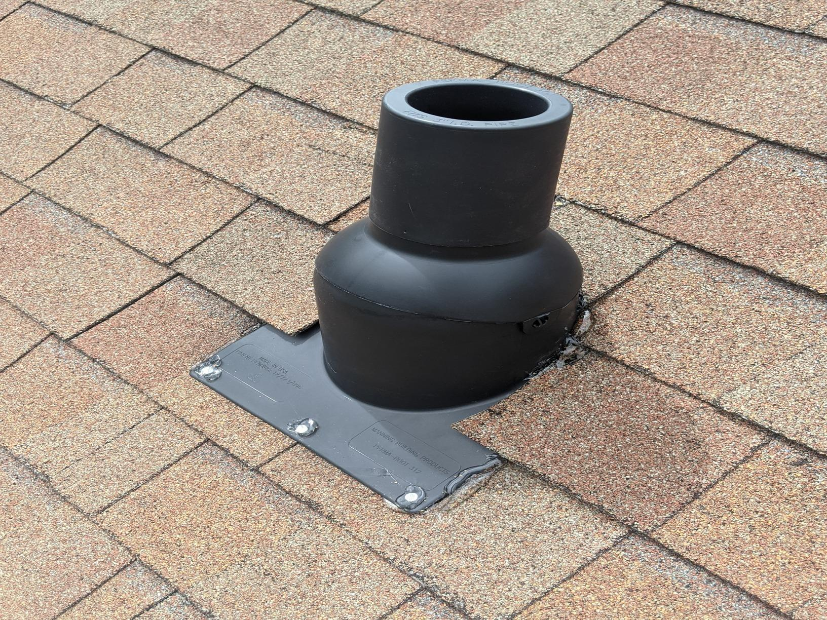 Replacement of Vent Pipe Boot in Greensboro, NC - After Photo