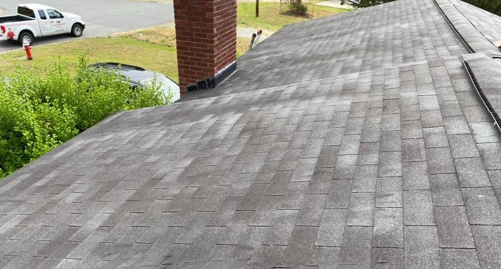 Roof Replacement Burlington, NC - Before Photo