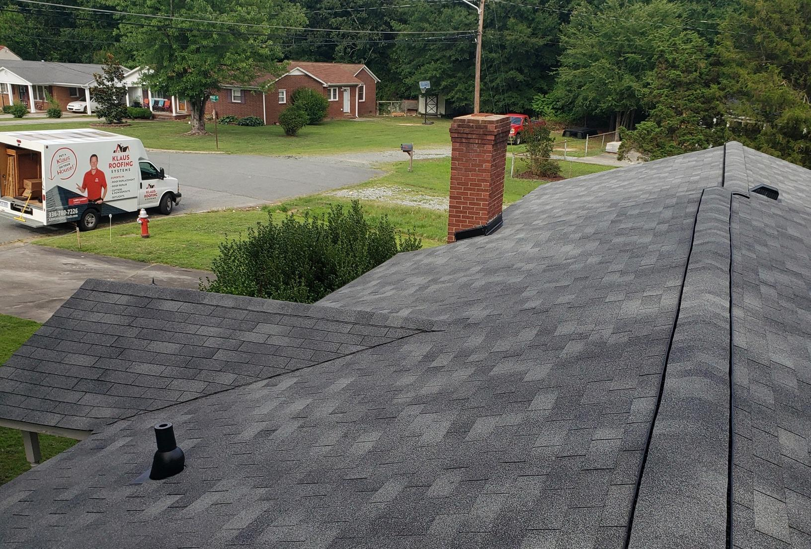 Roof Replacement Burlington, NC - After Photo