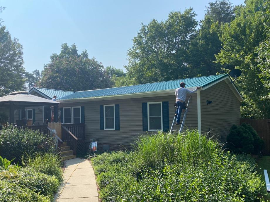 Metal Roof Installation in Germanton, NC - After Photo