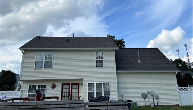 Full Roof Replacement and New Vent Cover Repair in High Point, NC
