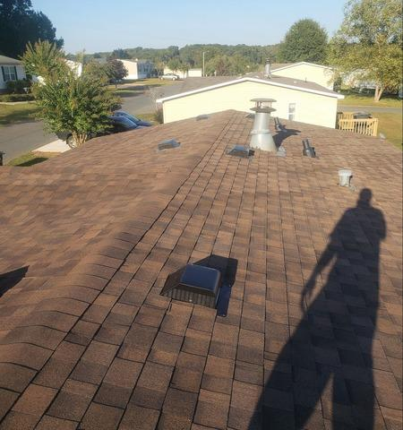 Replacing Damaged and Sinking Roof in Randleman, NC