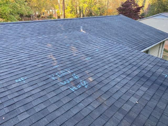 Replacing Sagging and Leaking Roof in Winston-Salem, NC