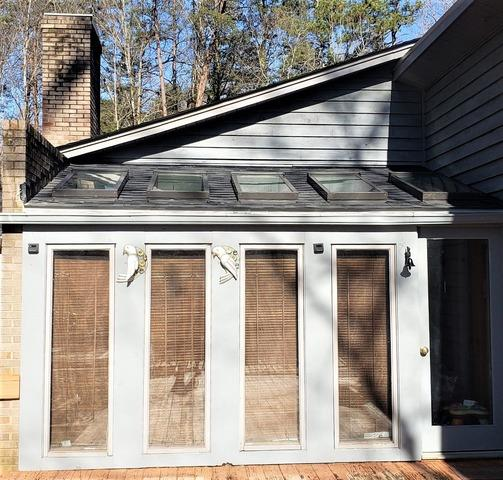 Replacing Rotten Roof Around Skylights in Gibsonville, NC - After Photo