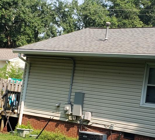 Seamless Gutter and Downspout Installation in Winston-Salem, NC