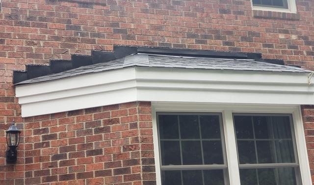 Flashing Leak Repair for Bay Window in Greensboro, NC - After Photo
