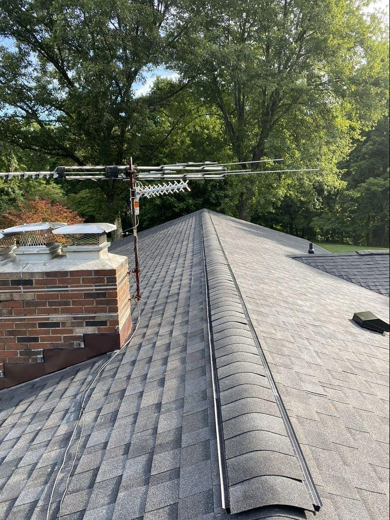 Hail Damaged Roof Replaced with IKO Dynasty System - After Photo