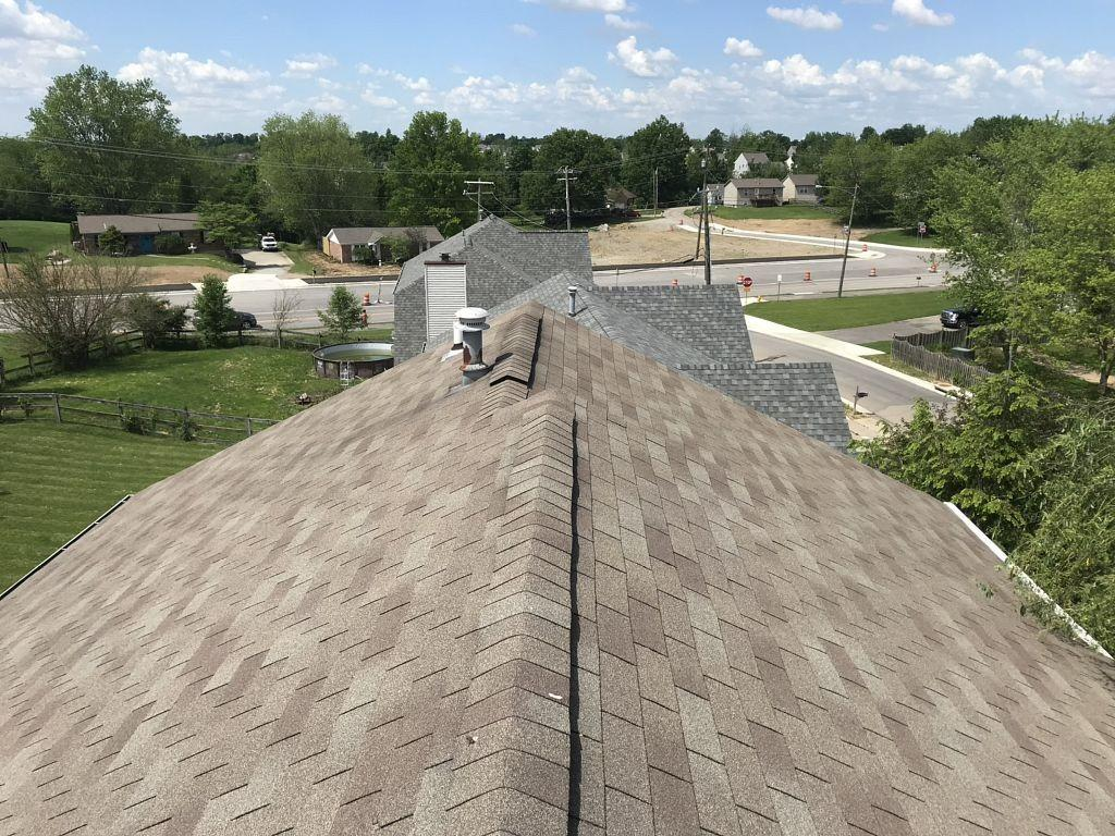 Roof Replacement in Union, Kentucky Before and After - Before Photo