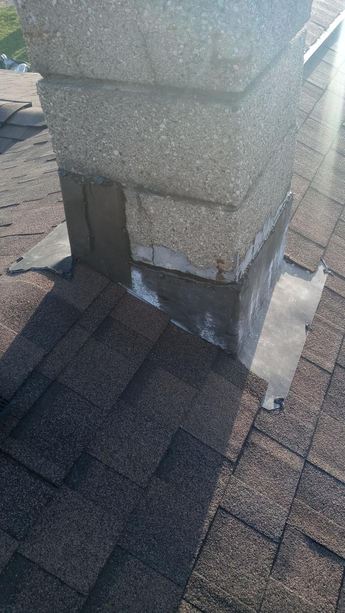 Before and After West Chester Chimney Flashing - After Photo