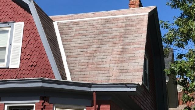 Norwood Roof Replacement Before and After - Before Photo
