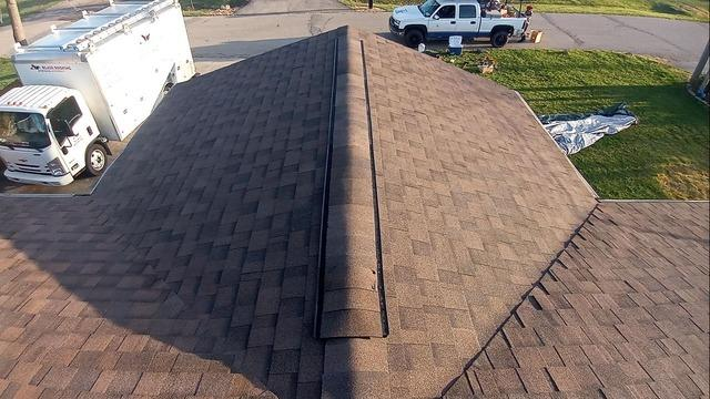 West Chester Roof Replacement Before and After