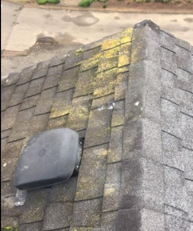 Coastal Home's Leaking Roof Fixed with Roof Replacement - Before Photo