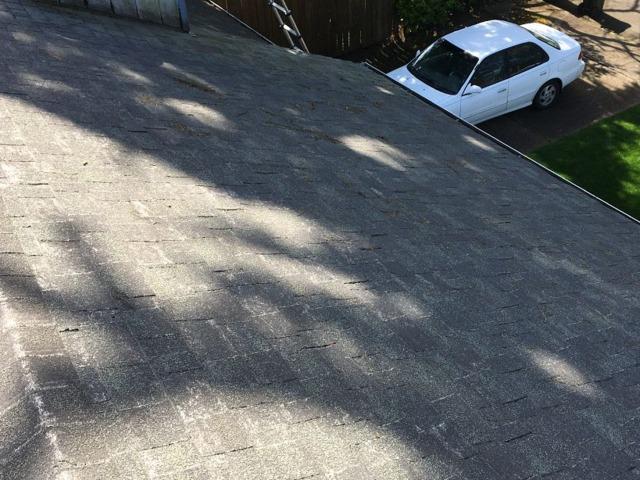 Eugene, OR Roof No Longer Leaking in a Hard Rain