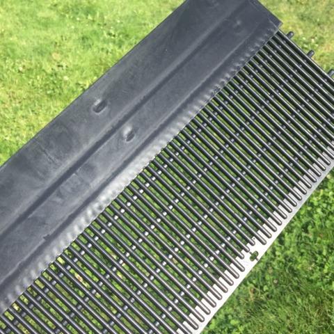 Cheap, Broken Gutter Guards Replaced with Sturdy RainDrop Gutter Guards