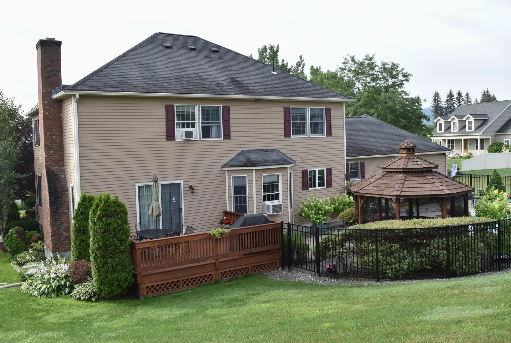 Pittsfield, MA Roof Replacement IKO Granite Black Dynasty Shingles - Before Photo