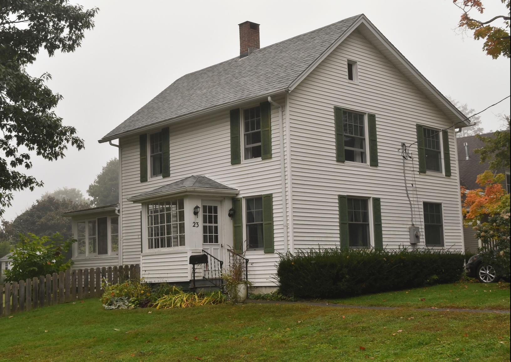 Great Barrington, MA Roof Replacement IKO Dynasty Frostone Grey Shingles - After Photo