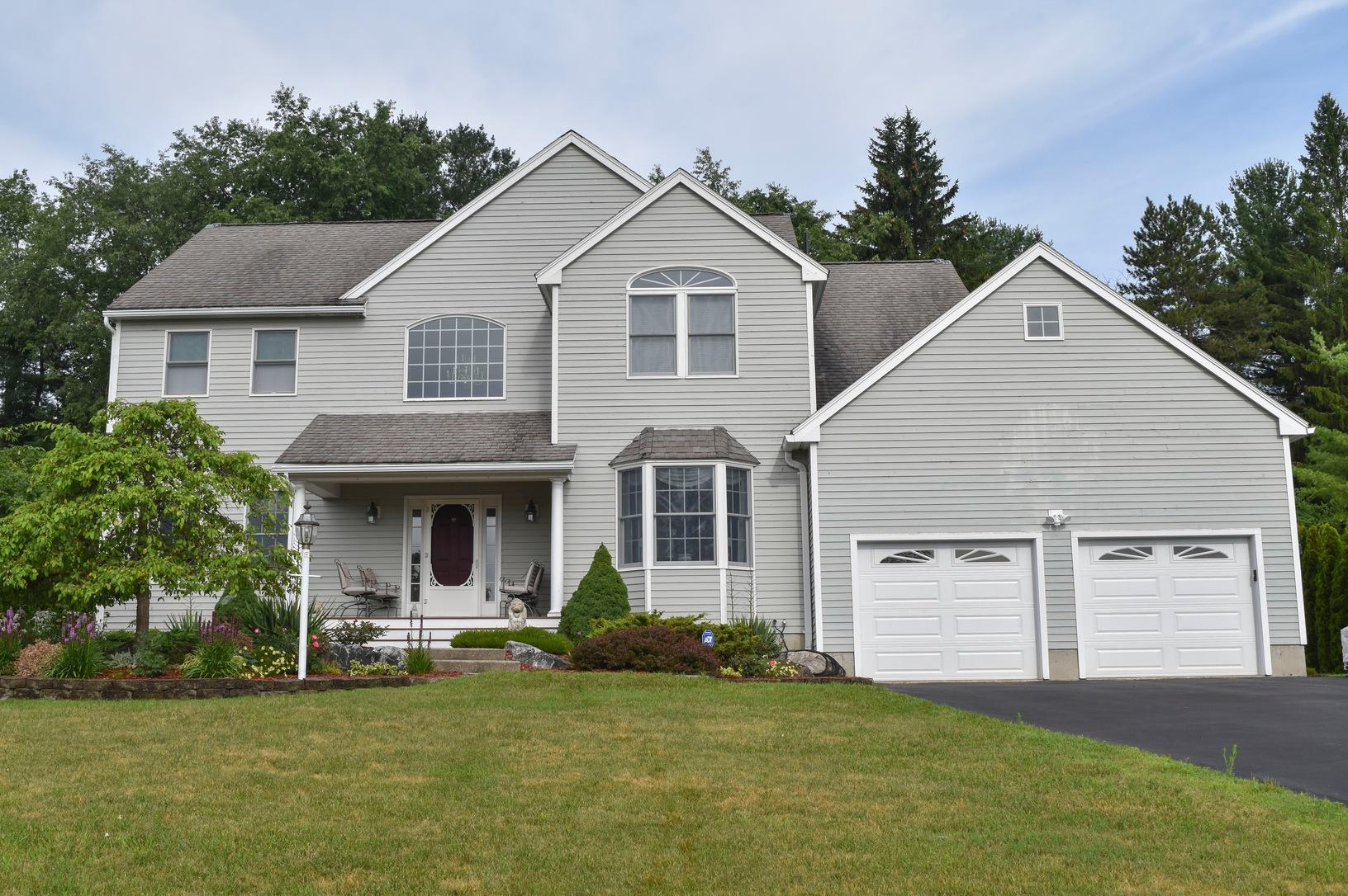 Pittsfield, MA Roof Replacement IKO Dynasty Granite Black Shingles - Before Photo