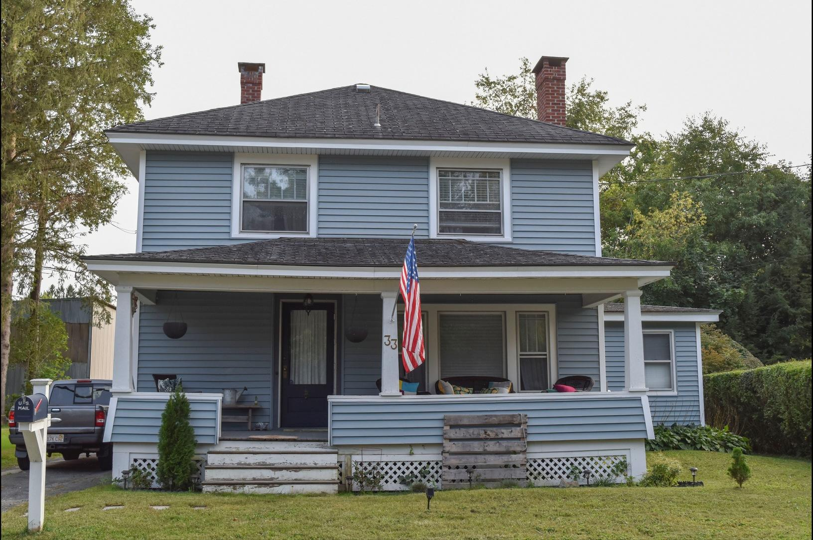 Pittsfield, MA Roof Replacement IKO Dynasty Castle Grey Shingles - Before Photo