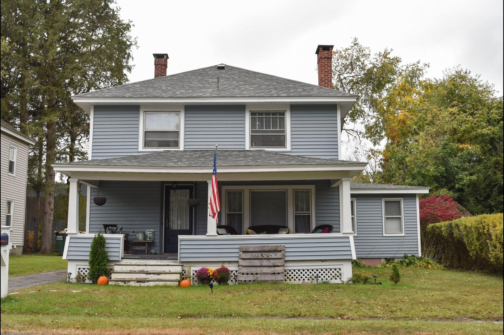 Pittsfield, MA Roof Replacement IKO Dynasty Castle Grey Shingles - After Photo