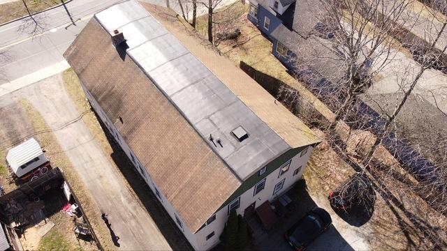 Lenox, MA Roof Replacement IKO Dynasty Castle Grey Shingles - Before Photo