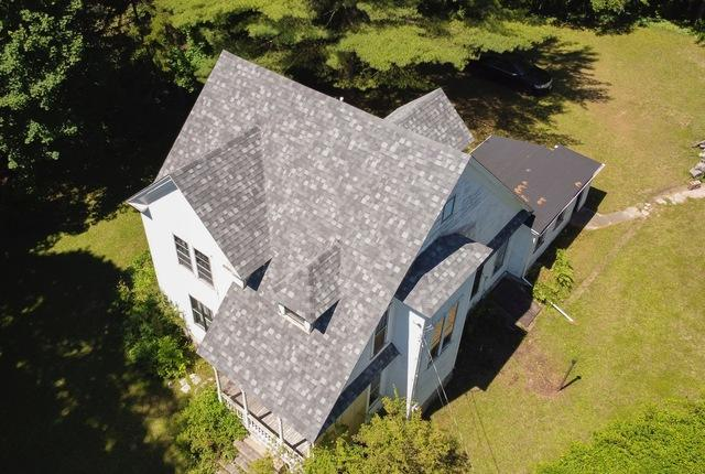 Cheshire, MA Roof Replacement IKO Dynasty Castle Grey Shingles