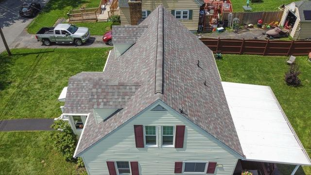Klaus Total Roof Replacement with IKO Sentinel Slate Dynasty Shingles