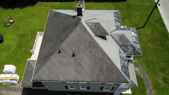 Klaus Total Roof Replacement with IKO Granite Black Dynasty Shingles