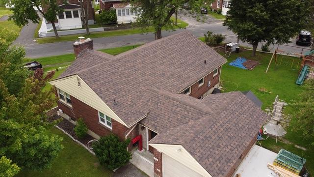 Klaus Total Roof Replacement with IKO Shadow Brown Dynasty Shingles