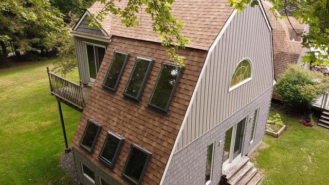 Klaus Partial Roof Replacement with Velux Skylights