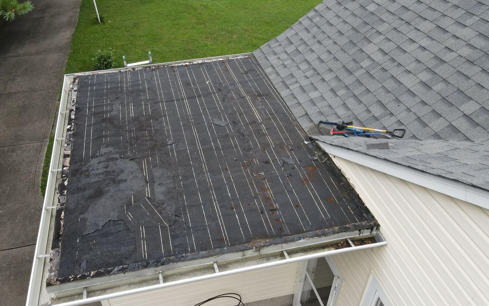 Roof Repair in Indianapolis, IN - Before Photo