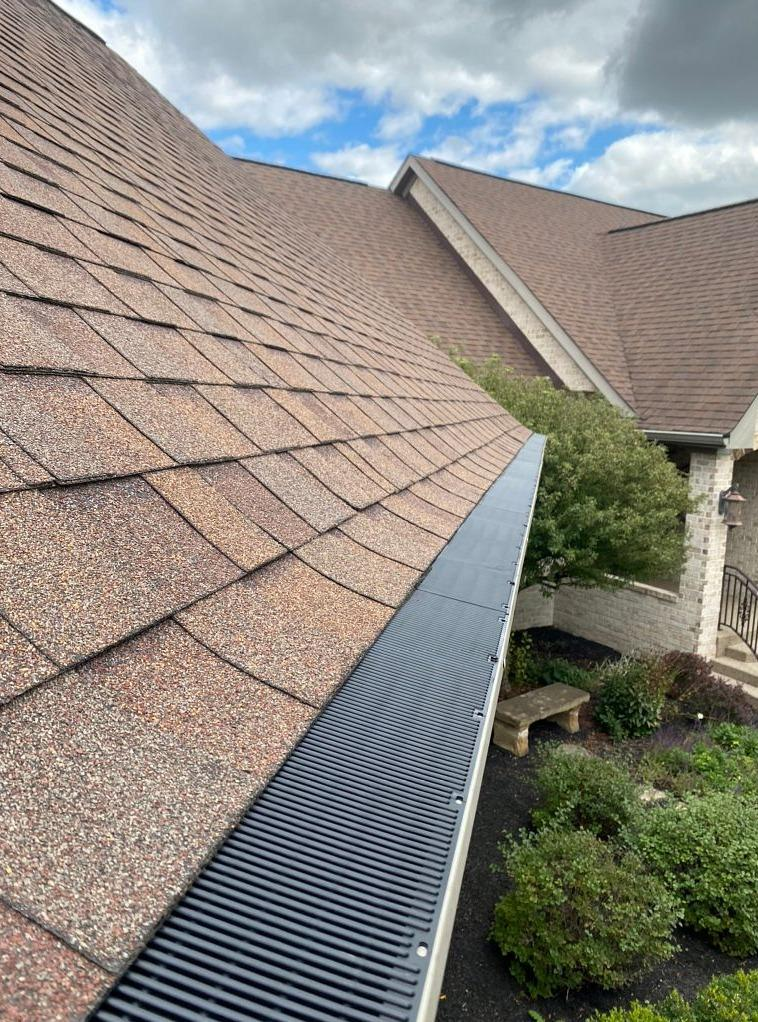 Gutter Guard Installation in Westfield, IN - After Photo