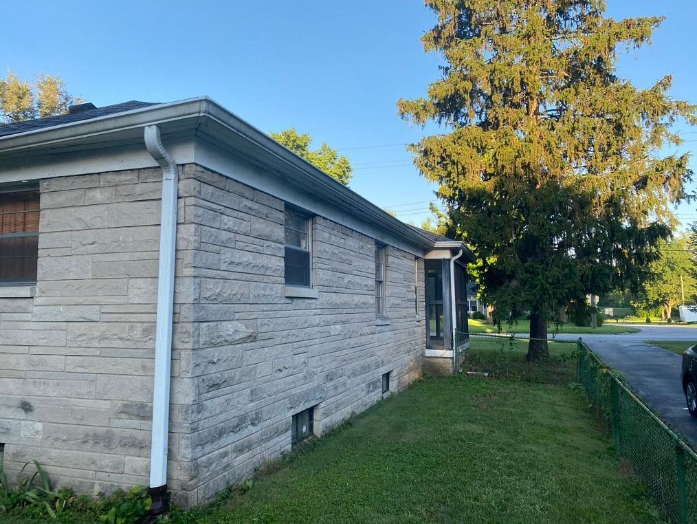 Gutter Installation in Indianapolis, IN - Before Photo