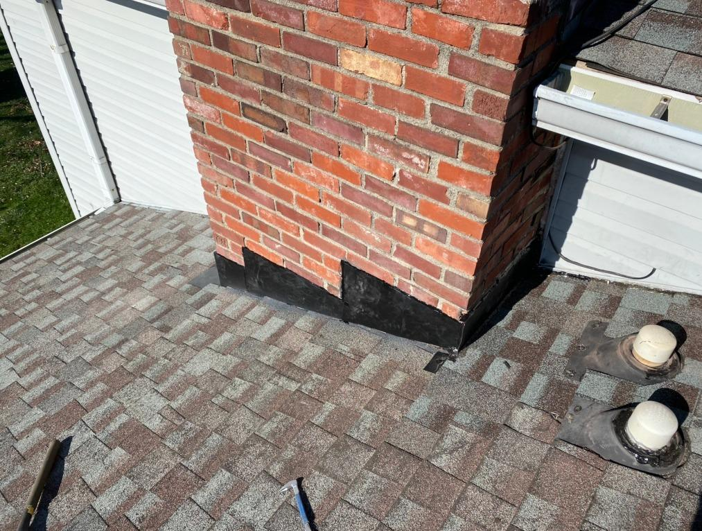 Chimney Flashing Repair in Indianapolis, IN - After Photo