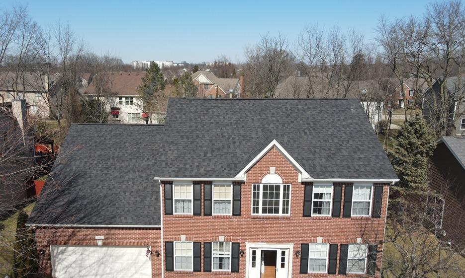 Roof and Gutter Replacement in Fishers, IN - After Photo