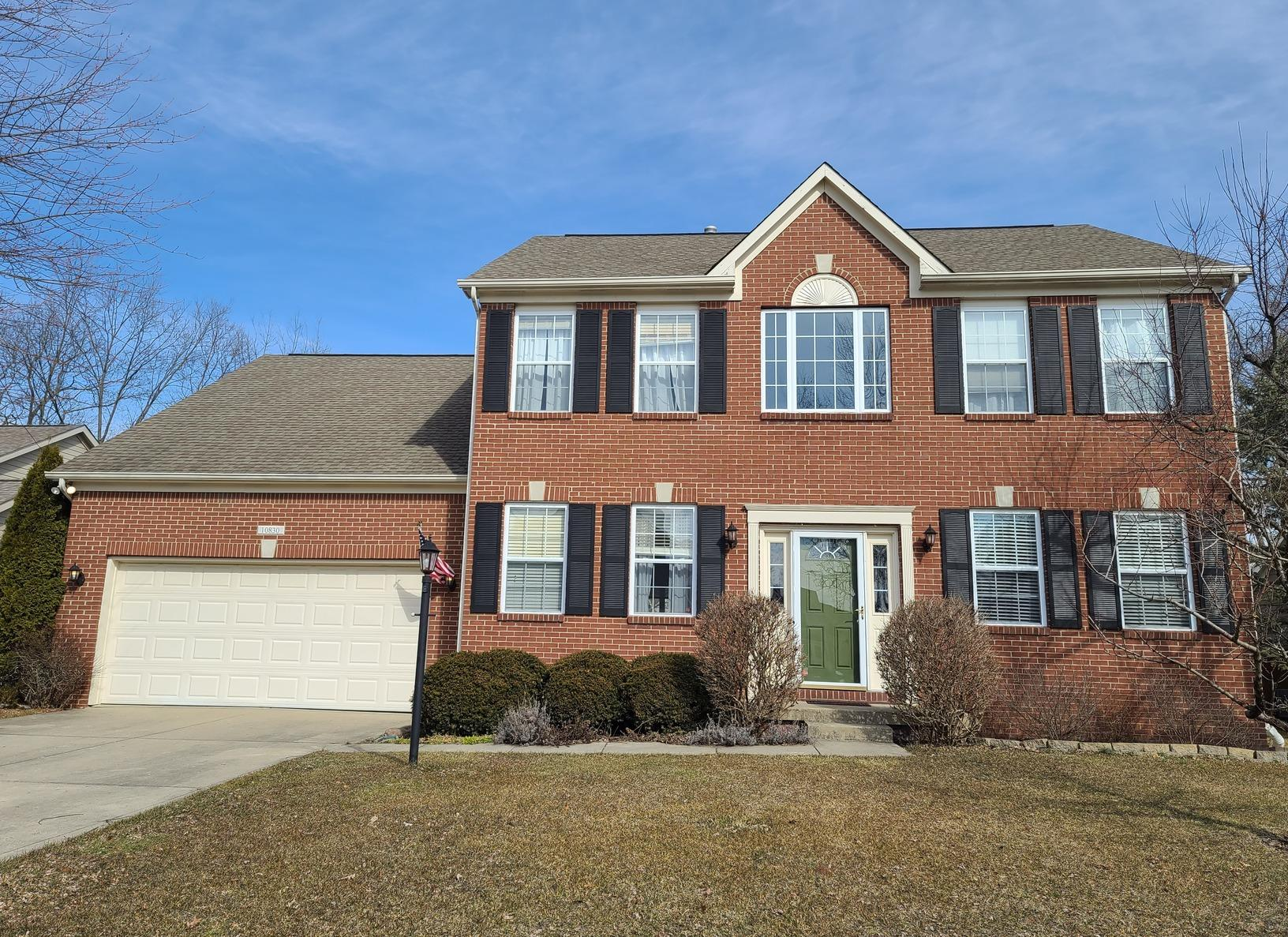 Roof and Gutter Replacement in Fishers, IN - Before Photo