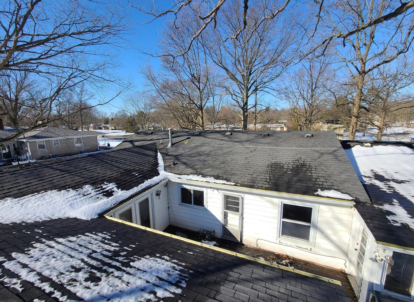 Roof Ventilation and Gutters in Indianapolis, IN - Before Photo