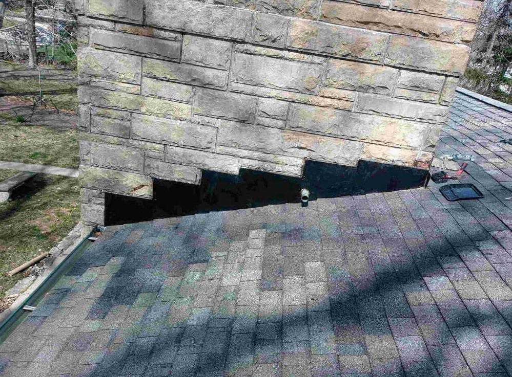 Chimney Flashing in Indianapolis, IN - After Photo