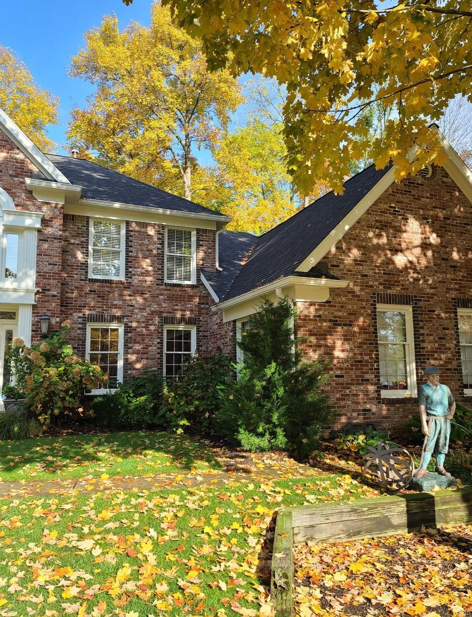 Partial Roof Replacement in Carmel, IN - Before Photo