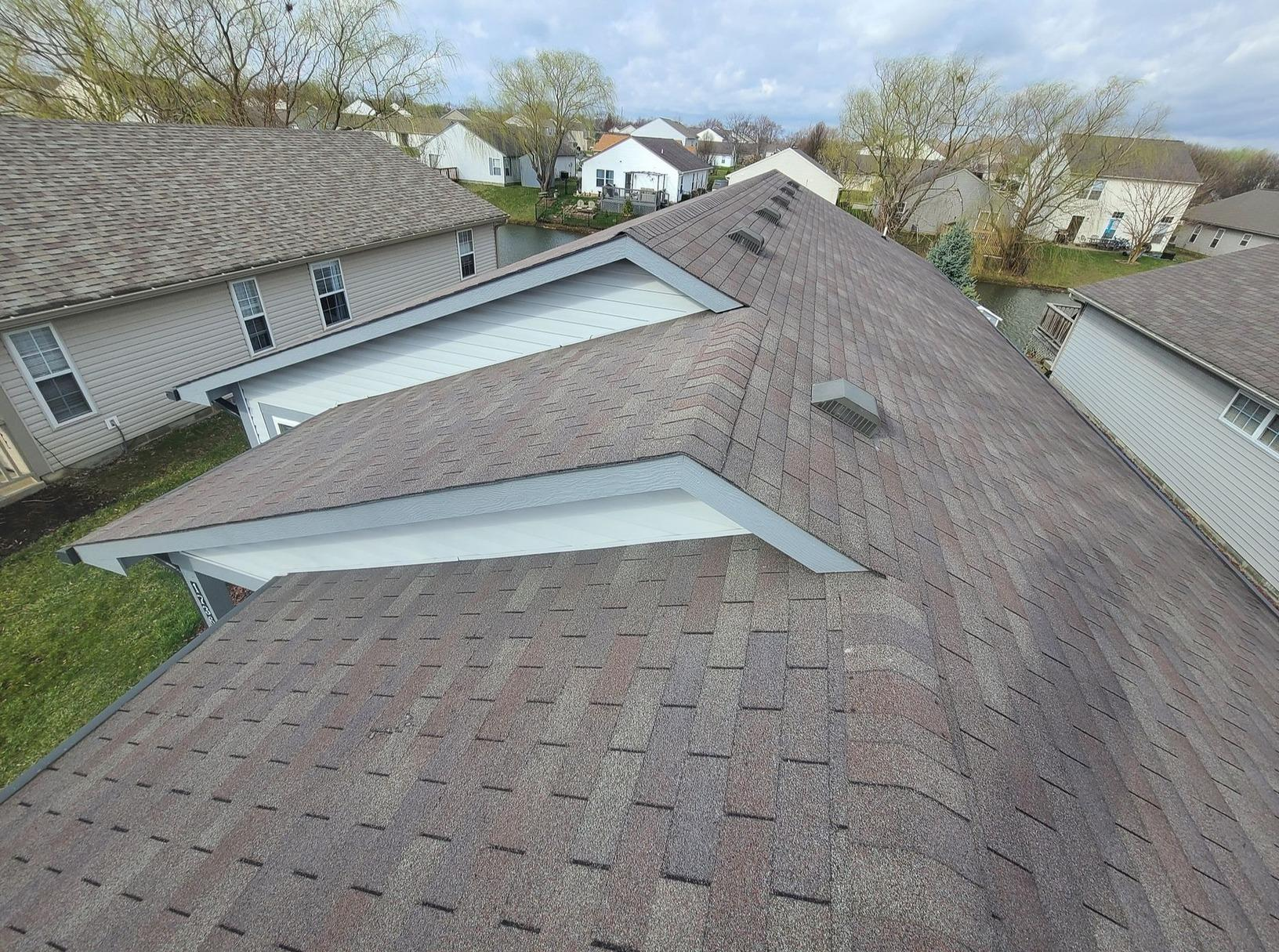 Roof Shingle Replacement in Greenwood, IN - Before Photo