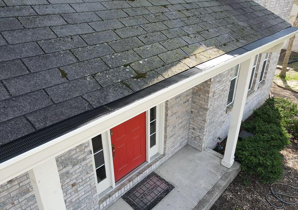 Gutter Guard Installation in Noblesville, IN - After Photo
