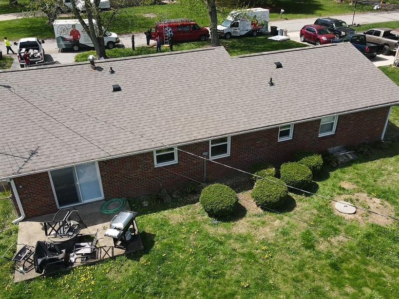 Roof Replacement in Franklin, IN - After Photo
