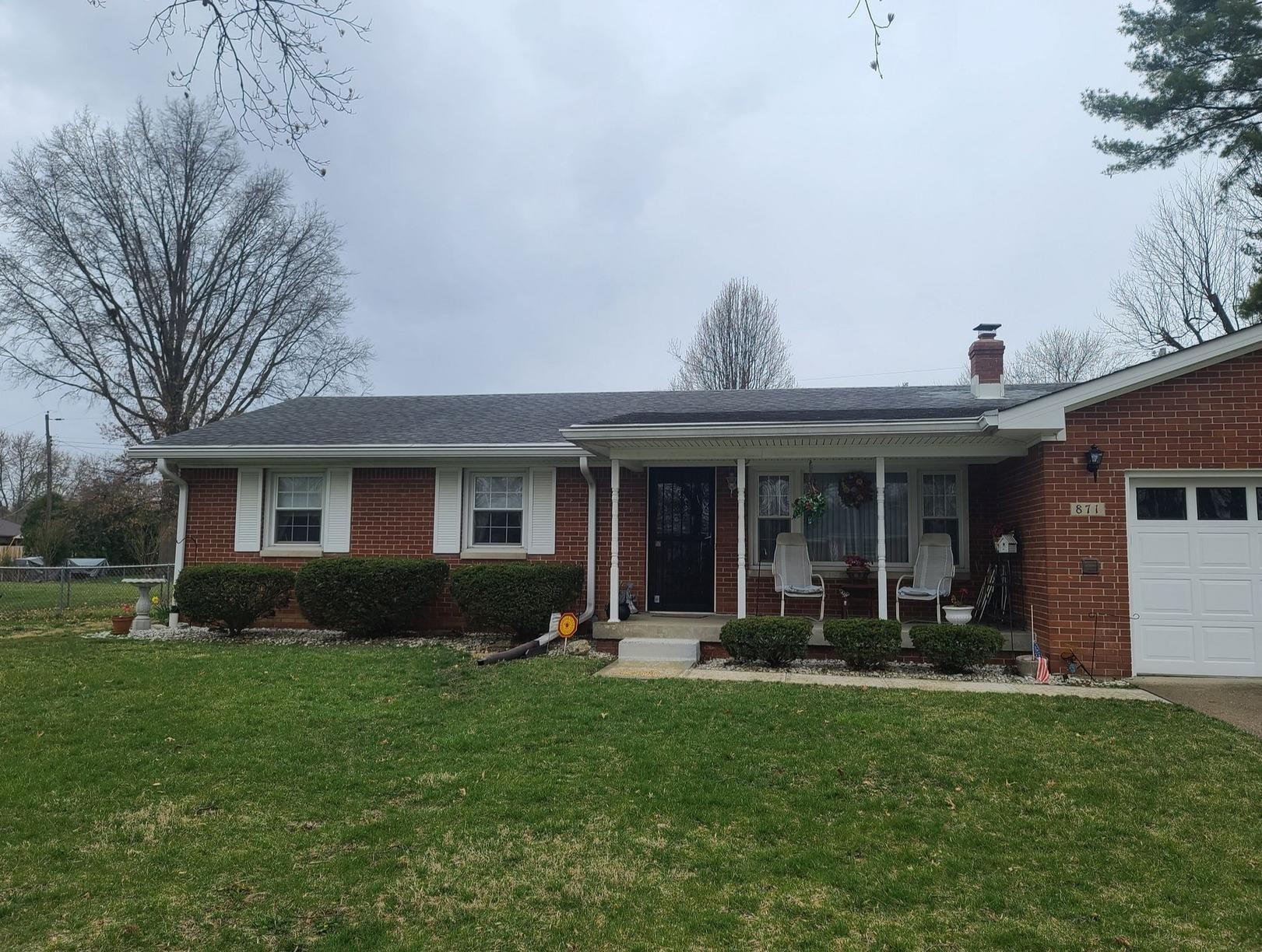 Roof Replacement in Franklin, IN - Before Photo